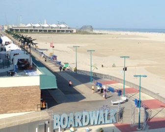 Wildwood Crest Boardwalk Cam