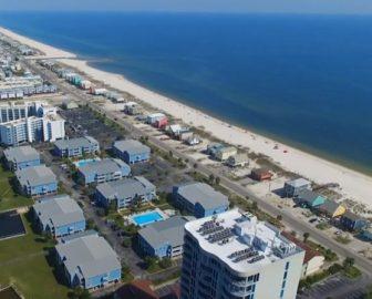 Orange Beach Alabama Aerial Tour