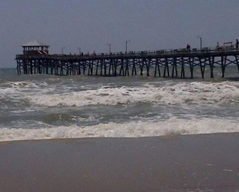 Atlantic Beach Webcam from Oceanana Pier