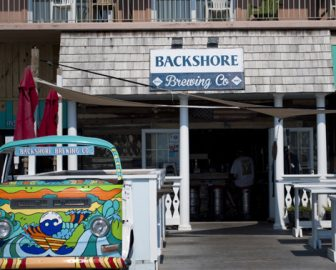 Backshore Brewing Boardwalk Cam in Ocean City, MD