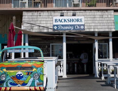 Backshore Brewing Boardwalk Cam in Ocean City, MD