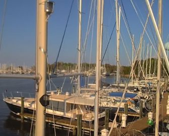 Bert Jabin Yacht Yard webcam Annapolis, Maryland