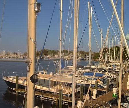 Bert Jabin Yacht Yard webcam Annapolis, Maryland
