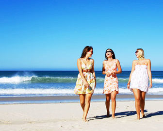 Best Beaches for Girlfriend Getaway in U.S.