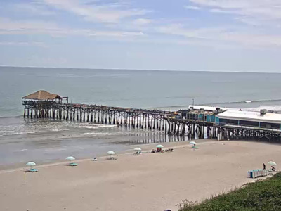 Cocoa Beach Live Cam from Best Western Oceanfront