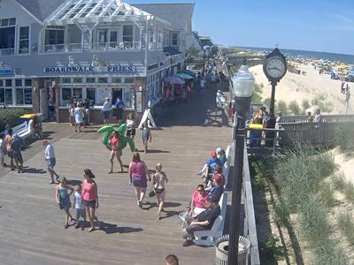 Bethany Beach Boardwalk North Live