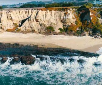 Half Moon Bay, CA Aerial Video Flyover Beach Tour