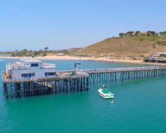 Malibu CA Aerial Video Tour