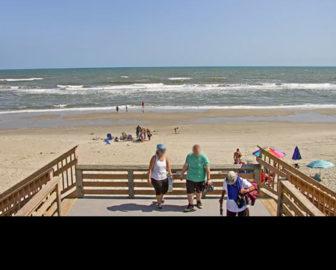 Corolla Light Resort Beach Webcam, Outer Banks NC