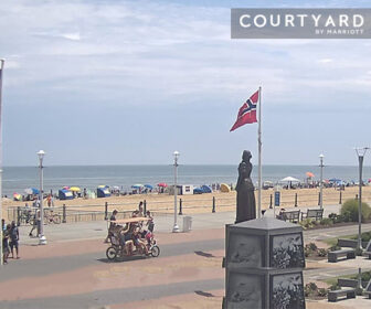 Live Boardwalk Webcam by Courtyard by Marriott Virginia Beach Oceanfront/South