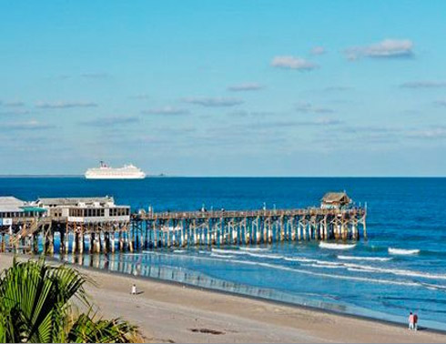 Cocoa Beach Live Cam from Doubletree Hilton