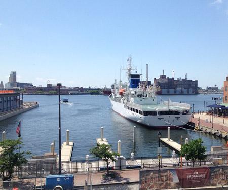 Baltimore Fells Point Inner Harbor Webcam