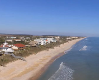 Aerial Tour Of St Augustine Beach Fl