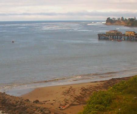 Capitola Beach Surf Cam