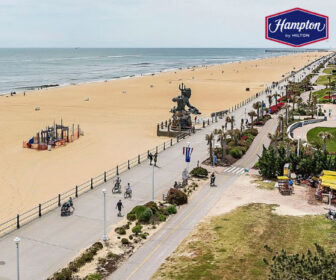 Hampton Inn Virginia Beach Oceanfront Hotel Live Boardwalk Webcam