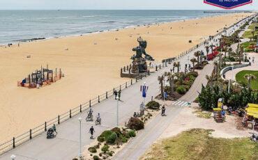 Hampton Inn Virginia Beach Oceanfront Hotel Live Boardwalk Webcam