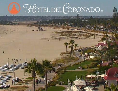 Hotel del Coronado Webcam