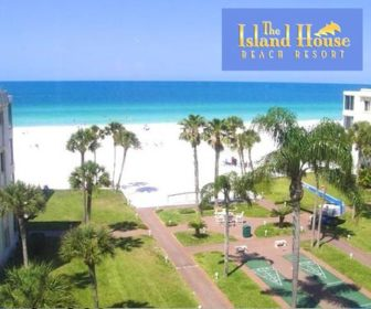 Island House Beach Resort Webcam, Siesta Key Beach