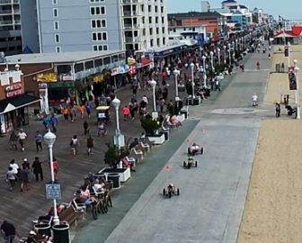 Jolly Roger's at the Pier Live Webcam in Ocean City, MD