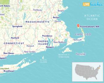 Map of Provincetown, Massachusetts