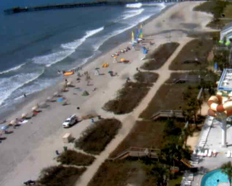 Crown Reef Beach Resort Webcam in Myrtle Beach