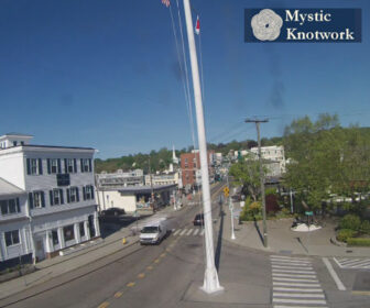 Downtown Mystic, CT Drawbridge Webcam