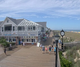 Bethany Beach Boardwalk North Live Webcam