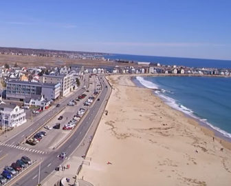 Aerial Tour of Hampton Beach, NH
