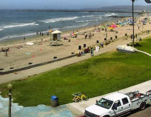 Ocean Beach Webcam in San Diego