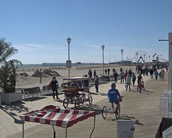 Ocean City MD Boardwalk Action Cam