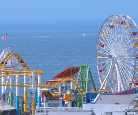 Pacific Park Webcam Santa Monica CA