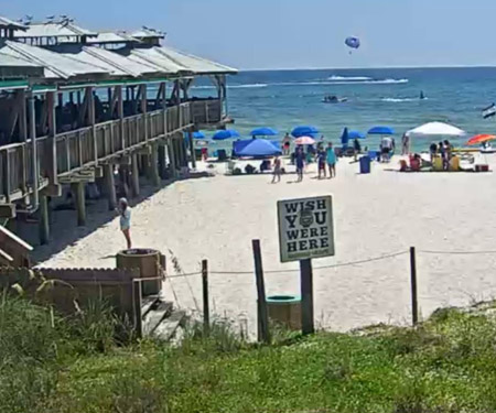 Pineapple Willy's Live Beach Cam, Panama City Beach Florida