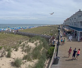 Bethany Beach DE Boardwalk South Live Cam