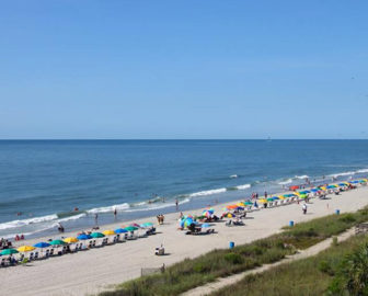 Sea Crest Resort Webcam in Myrtle Beach