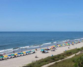 Sea Crest Resort Webcam in Myrtle Beach