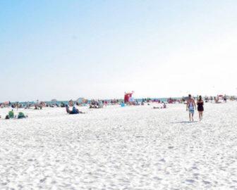 Siesta Beach Webcam in Sarasota FL