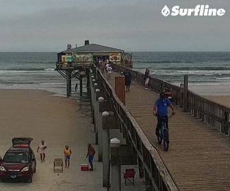 Sunglow Pier Daytona Beach Webcam by Surfline
