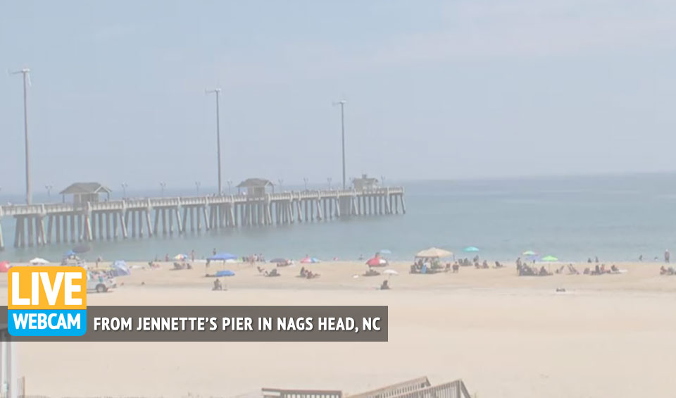 Webcam at Jennette's Pier in Nags Head | Visit Outer Banks