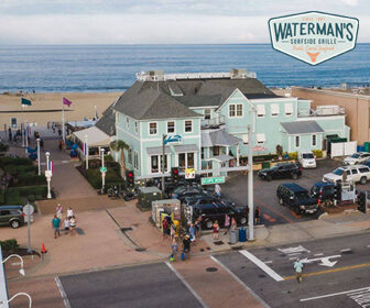 Waterman's Surfside Grille Live Webcam, Virginia Beach Boardwalk Live Webcam