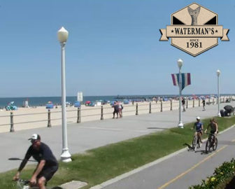Watermans Live Webcam, Virginia Beach Boardwalk