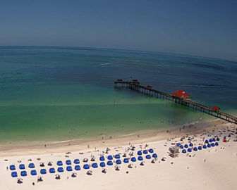 Clearwater Beach Webcam from Wyndham Grand
