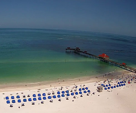 Clearwater Beach Webcam from Wyndham Grand