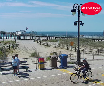 Ocean City, NJ 14th St Fishing Pier Cam