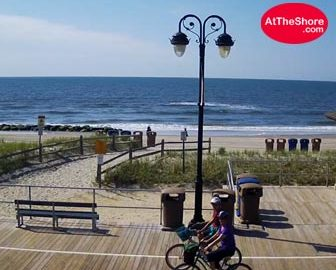 Ocean City, NJ Beach Cam - 9th St