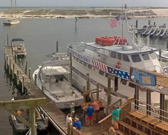 AJ's Dockside Cam in Destin FL