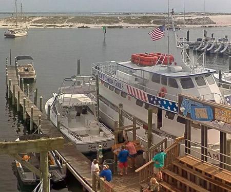 AJ's Dockside Cam in Destin FL