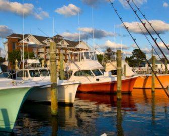 Anchorage Marina on Ocracoke Island