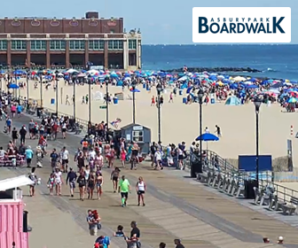 Asbury Park Boardwalk Live Cam, New Jersey