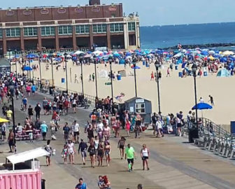 Asbury Park Boardwalk Live Cam in New Jersey
