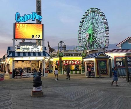 Casino Pier Live Webcam Seaside Heights, NJ
